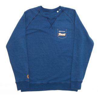 T-Shirt Nantes - Nantes is in my heart - Homme - Bleu/Blanc - Face