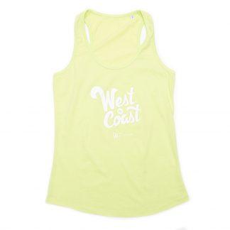 T-Shirt Nantes - West Coast - Femme - Vert/Blanc - Face