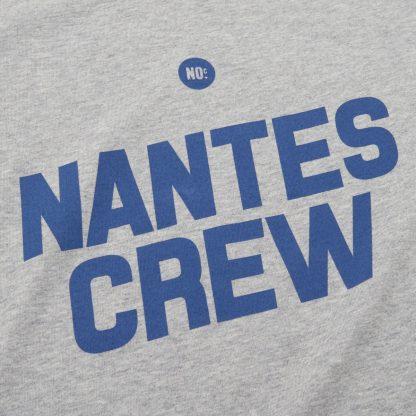 T-Shirt Nantes - Nantes Crew - Femme - Bleu/Gris - Détail