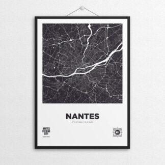 Affiche NOc MAP Nantes - Noir