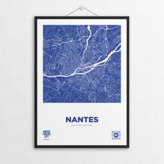 Affiche NOc MAP Nantes - Bleu